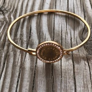 Marc by Marc Jacobs Rose Gold Signature Bangle!